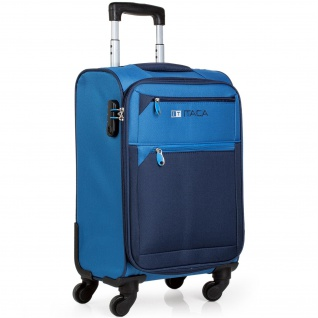 Itaca Reisekoffer 54 Cm EVA-Polyester. 4 Rollen. Kabinengepäck. Handgepäck. Hartschalekoffer. 701050