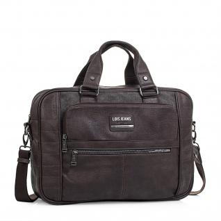 Lois Aktentasche Unisex Laptop 15 Handtasche Messenger Bag Arbeitstasche Businesstasche 96540