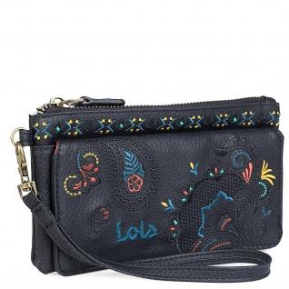 Lois Portmonnaie Für Damen Geldbeutel Münzbörse Geldtasche 302620