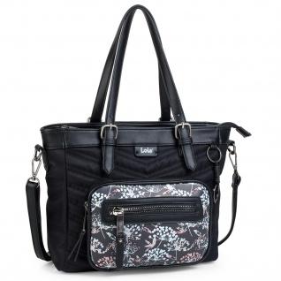 Lois Henkeltasche Für Damen Shopper Bag RFID-Schutz Tote Schultertasche 304081