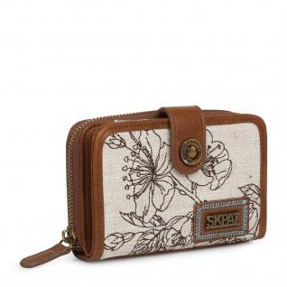 SKPAT Portmonnaie Für Damen Geldbeutel Brieftasche Geldtasche 301614