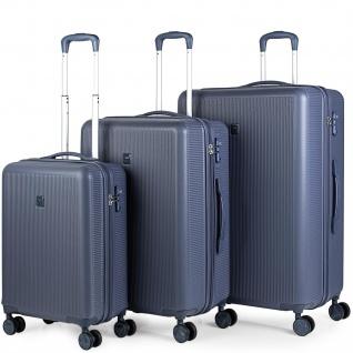 3Er Kofferset 54/67/78 Cm ABS. 4 Rollen. Steif, Widerstandsfähig Und Leicht. TSA Hängeschloss. Kleine Koffer Genehmigt Für Ryanair, Mittlere Und Große. 171000