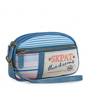 SKPAT Portmonnaie Für Damen Geldbeutel Brieftasche Geldtasche 302512