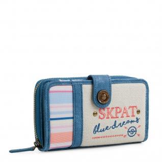 SKPAT Portmonnaie Für Damen Geldbeutel Brieftasche Geldtasche 302516
