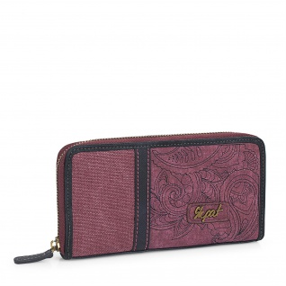 SKPAT Brieftasche Geldbörse Für Damen Portmannaie Geldbeutel Münztasche 95301