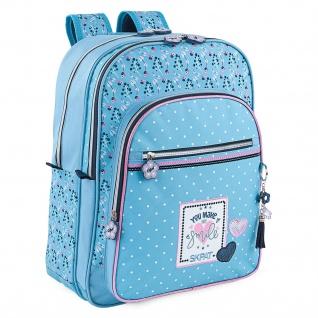 Schulranzen Für Mädchen. Anpassungsfähig An Das Trolley. Verstellbare Riemen. Komfortabel, Leicht, Widerstandsfähig Und Wasserdicht.