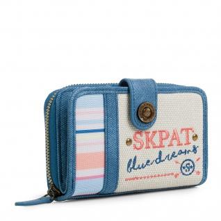 SKPAT Portmonnaie Für Damen Geldbeutel Brieftasche Geldtasche 302514
