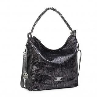 Lois Henkeltasche Für Damen Umhängetasche Hobo Bag Shultertasche Elegante Design 94570