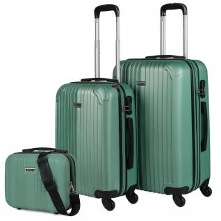 Set 2 Koffer Und Schönheit Fall 4 Räder ABS. Starr Und Leicht. Vorhängeschloss. Extensible. Klein Und Mittel T71515B