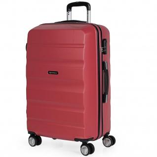 Itaca Mittlerer Hartschale Reisekoffer 67Cm ABS. 4 Rollen. Reisegepäck. Koffer. Gute Qualität. Schönes Design. T71660
