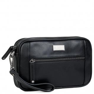 JASLEN Hand Brieftasche Für Herren Dokumentenhalter Handgriff Kunstleder Herrentasche Handgelenktasche 305685