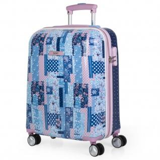 SKPAT Hartschale Kinderkoffer 55 Cm Bedrucktes Polykarbonat 4 Rollen Kabinengepäck Handgepäck Koffer 130050