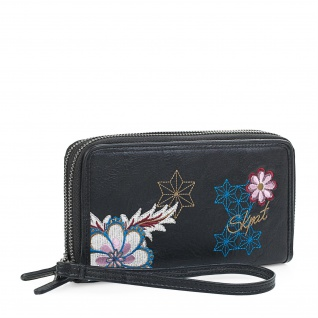 Lois Portmonnaie Für Damen Mit Handgriff Geldbeutel Brieftasche Geldtasche 95517