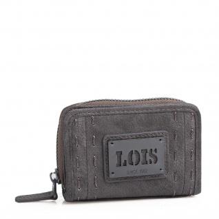 Lois Portmonnaie Für Damen Geldbeutel Brieftasche Münztasche Geldtasche Kartenhalter 93027