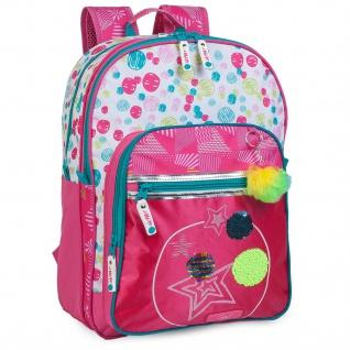 Schulmädchen Rucksack Gepolstert Polyester Mädchen. Mit Oberem Griff Und Verstellbaren Streifen.