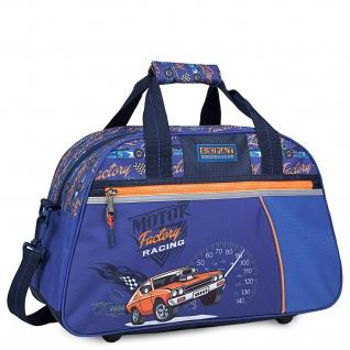 Kindersporttasche Für Kinder. Gestempelt. Klebeband Für Trolley. Schule, Ausflug, Turnhalle, Weite Öffnung.
