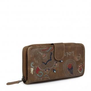 Lois Portmonnaie Für Damen Geldbeutel Brieftasche Geldtasche 302616