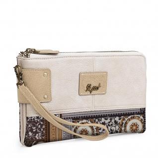 SKPAT Portmonnaie Für Damen Mit Handgriff Geldbeutel Brieftasche Kulturtasche Geldtasche 95409
