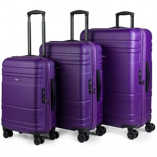 JASLEN 3 Kofferset 50/60/70 Cm ABS Hartschalen Reisekoffer Reisegäpack 73100
