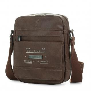 Itaca Klein Schultertasche Für Herren. Umhängetasche. Reisebrieftasche. Kuiertasche. Messenger Tasche. Klassisch Und Vintage.T26021