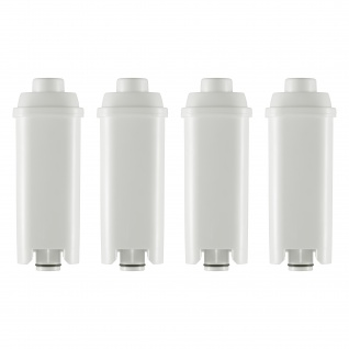 4 Wasserfilterkartuschen, Patronen geeignet für alle DeLonghi Kaffeemaschinen