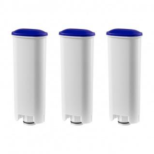 3 Wasserfilterkartuschen, Patronen geeignet für alle DeLonghi Kaffeemaschinen