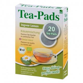 """Bio Tea Pads """"Ingwer Lemon"""""""