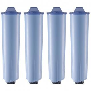 4 Wasserfilterpatronen geeignet für Jura/ENA Kaffeemaschinen* mit Claris Blue Kartusche