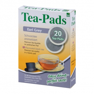 "Tea Pads ""Earl Grey"""