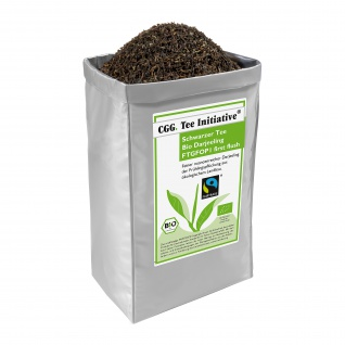 1kg Bio Fairtrade Darjeeling Tee Initiative first flush, schwarzer Tee