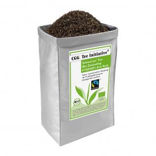Bio Fairtrade Darjeeling first flush Tee Initiative, schwarzer Tee, 1kg
