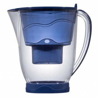"Aqua Select Wasserfilter System ""Whale"" mit LCD-Memory für Multimax-Patronen 3, 5 l blau"