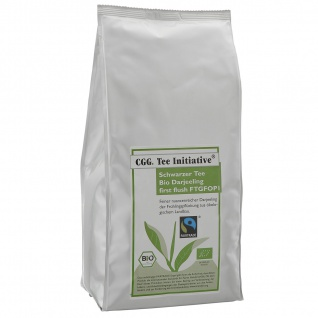 1 kg Bio Fairtrade Darjeeling first flush FTGFOP-1 Tee Initiative