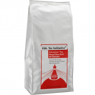 1kg Nepal Tee Initiative first flush, schwarzer Tee, loser Tee