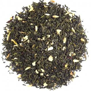 Jasmin mit Blüten-Grüner Tee, 1kg