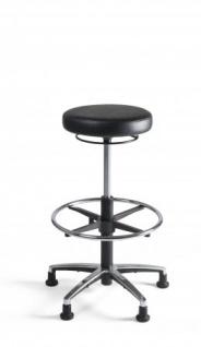 A&K 10.000 Home Collection Seat H7052 Arbeitsstuhl, schwarz - Vorschau 2