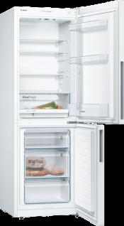 Bosch KGV332WEA Freistehende Kühl-Gefrier-Kombination mit Gefrierbereich unten, Serie | 4, 176 x 60 cm, Weiß