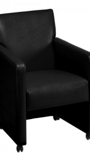 A&K 10.000 Home Collection Seat M7069 Meeting-Stuhl, schwarz