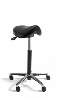 A&K 10.000 Home Collection Seat S7058 Sattelhocker, schwarz