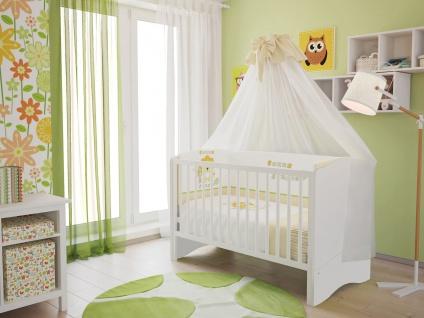 Kombi-Kinderbett Polini 140x70cm weiß