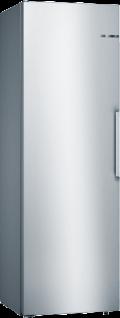 Bosch KSV36VLEP Serie   4, Freistehender Kühlschrank, 186 x 60 cm, Edelstahl-Optik