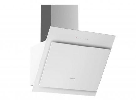 Bosch DWK67CM20 Wandesse 60 cm Weiß mit Glasschirm Serie 4