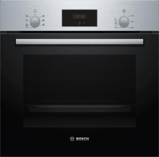 Bosch HBF133BR0 Einbau-Backofen Edelstahl Serie 2