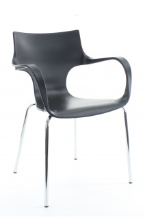 A&K 10.000 Home Collection Seat E7038 Empfangsstuhl, Anthrazit