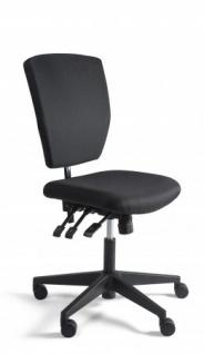 A&K 10.000 Home Collection Seat K7053 Kassenstuhl, schwarz