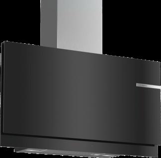 Bosch DWF97KM60 Serie   6, Wandesse, 90 cm, Klarglas schwarz bedruckt