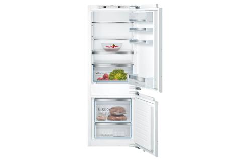 Bosch Serie | 6 Einbau-Kühl-Gefrier-Kombination mit Gefrierbereich unten 157.8 x 55.8 cm KIS77AFE0