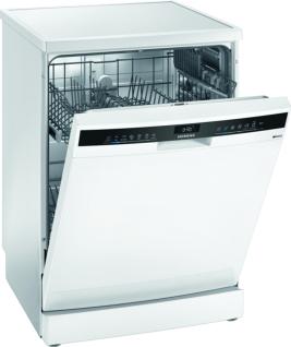 Siemens SN23HW24TE iQ300, Freistehender Geschirrspüler, 60 cm, Weiß