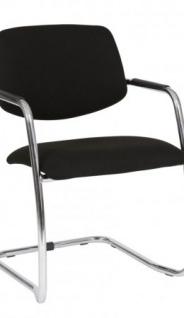 A&K 10.000 Home Collection Seat M7064 Meeting-Stuhl, schwarz