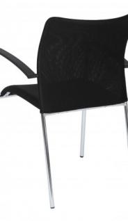 A&K 10.000 Home Collection Seat M7065 Meeting-Stuhl, schwarz - Vorschau 2